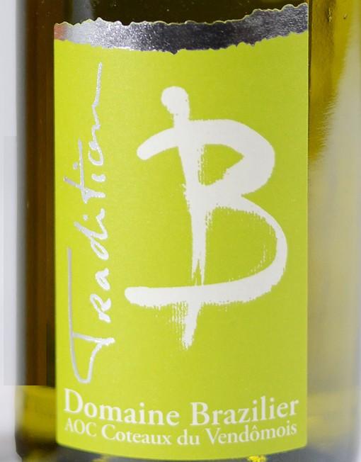 coteaux-du-vendomois-vin-blanc-tradition-domaine-brazilier-etiquette